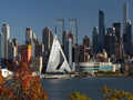 曼哈顿最贵地段,有超大庭院的住宅