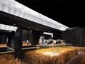 黑砖与光盒子打造的粮仓,好科幻!