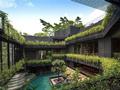 这是一座会呼吸的房子,屋顶垂落绿植