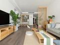 尽量留白的日式装修,三居室只花35万