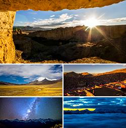 西藏风光延时摄影4K